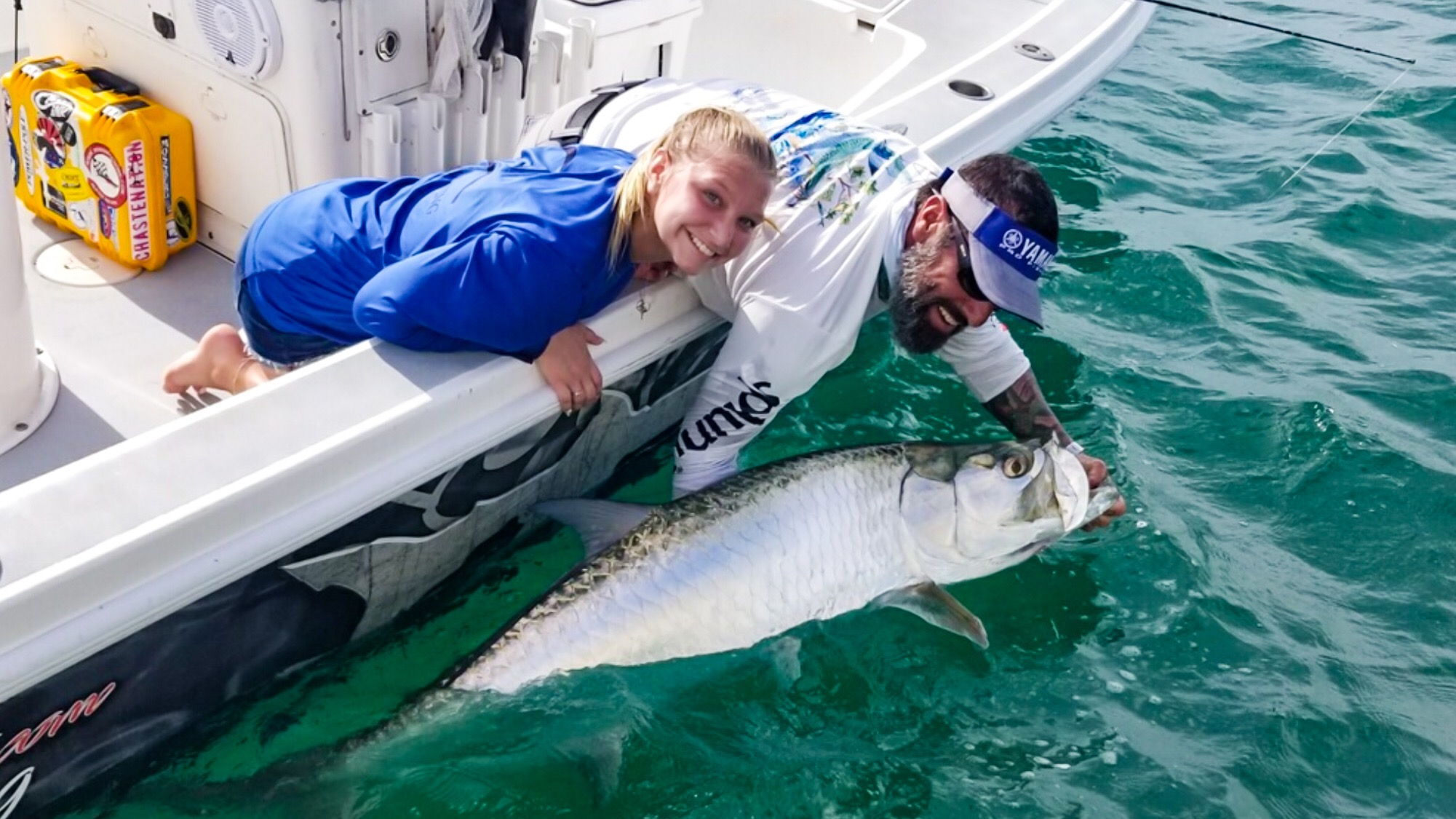 a picture of Tarpon Fishing Sarasota with Captain Nate