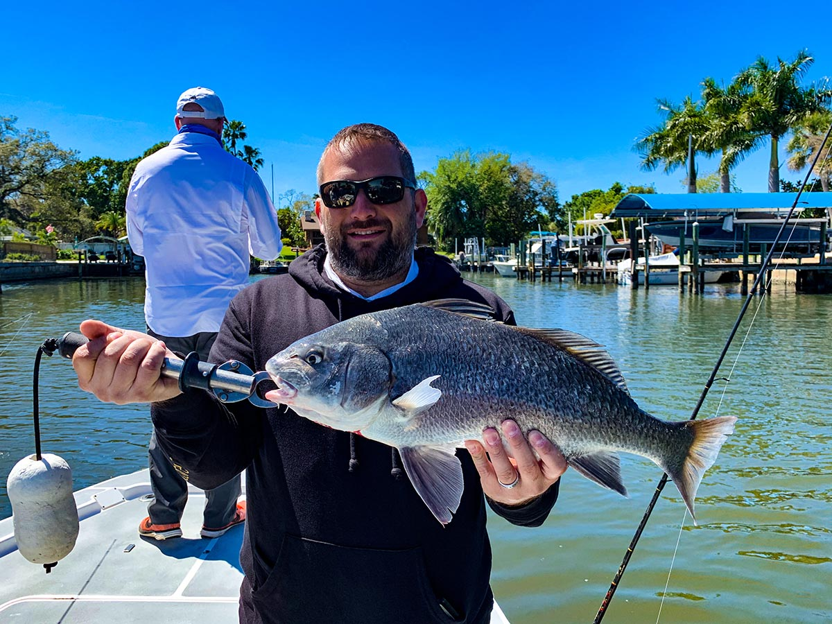 a picture of Bradenton Flats Fishing Charters | Planning | Reservations with Captain Nate