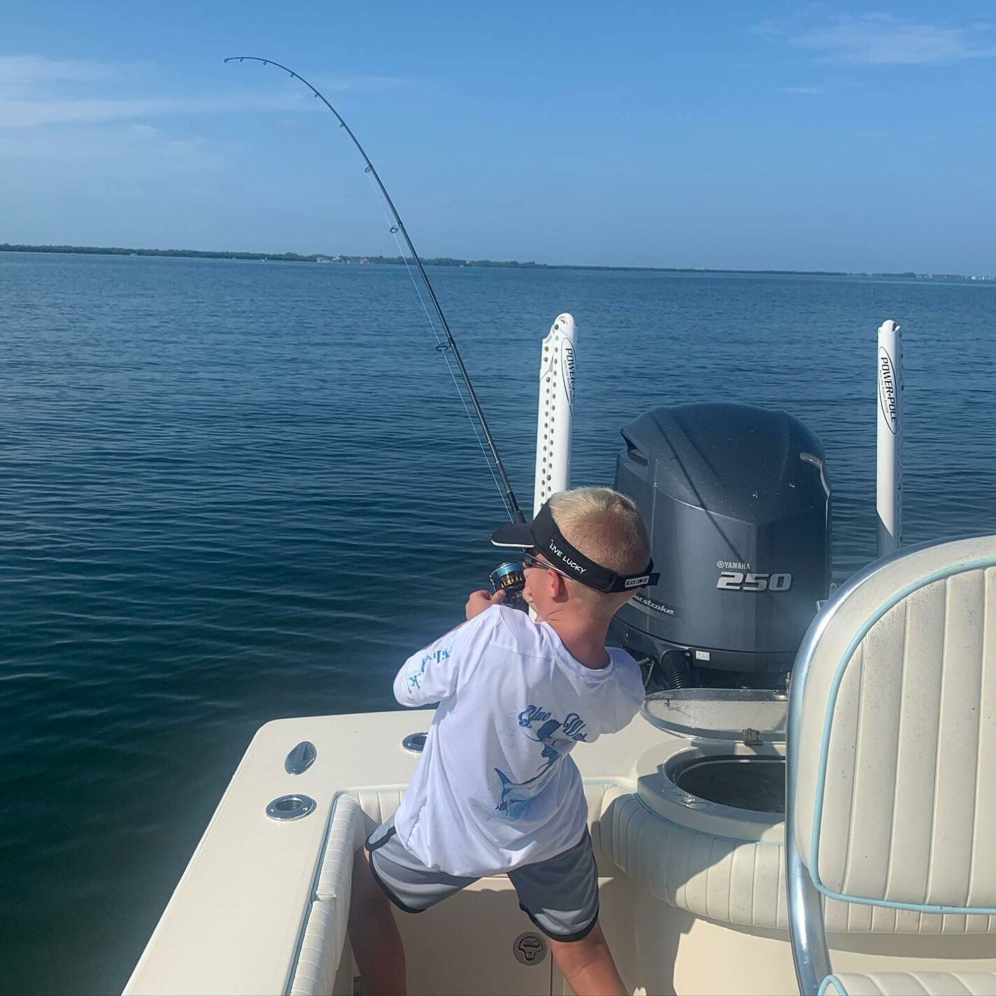 a picture of Bradenton Fishing In August. Grouper? Yep. with Captain Nate